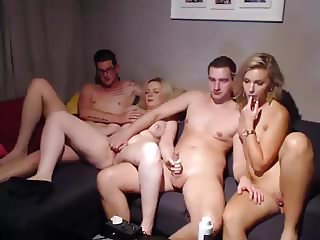 two hot sluts curvy blondes in nightsex