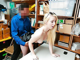 ShopLyfter - LP Officer Dominates And Detain Petite Blonde T