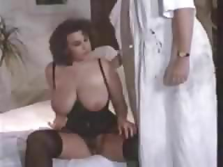 German Effie Balconi - VintagBig Saggy Tits Stockings