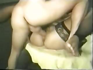 Vintage Dawn Phoenix  Big Saggy Tits 2 cocks Stockings