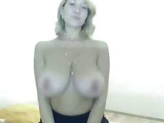most perfect big natural tits shaking sexy cam girl gerda