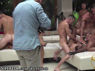 Live Show: Euro Anal Orgy from Rocco Siffredi's Vault!