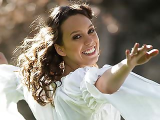Happy and hairy Jade under the Sun