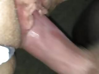 cum on her cunt and panties