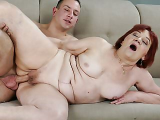 Redhead Granny wants some cock