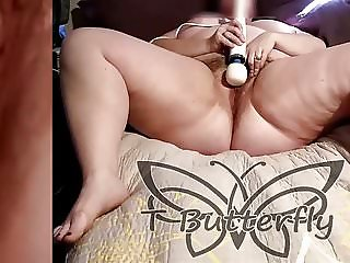 Hitachi Orgasm with Pulsating Pussy