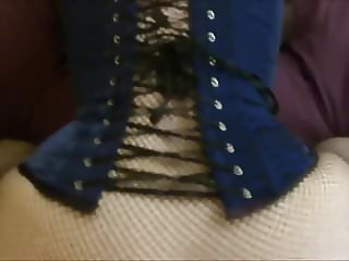 Slutwifelaura corset big tits POV fuck with hubby's friend