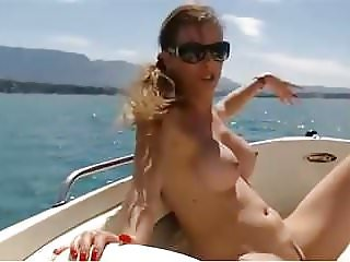 Nude on Boat