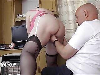 A hard cock between my heels!!!