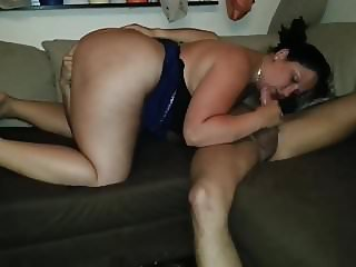 Hot German whore nice blowjob