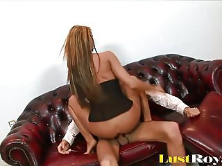 Busty Blonde Milf Just Can't Stop Begging For More Anal Sex