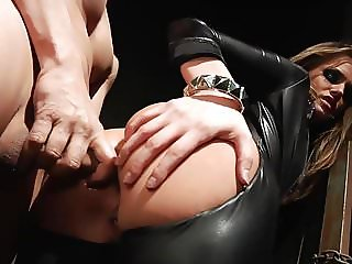 Tori Black Rough Anal in Latex