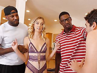 Haley Reed Interracial Threesome - Cuckold Sessions