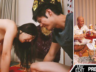 GIRLFRIEND PAYS BOYFRIEND DEBT - JAV PMV
