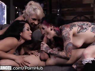Joanna Angel's Killer Girlfriend Goes Psycho After Intense Orgy!