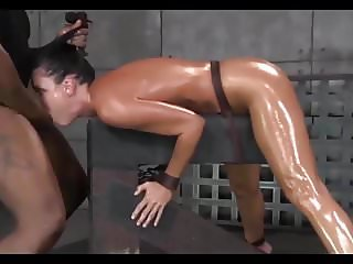 Spit roasted, deepthroat and fuck