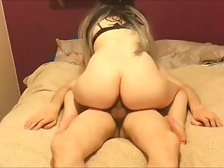 I love riding his huge cock