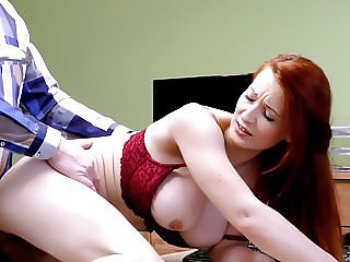 LOAN4K. Hot redhead slut fucks her credit agent