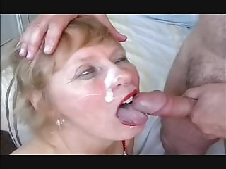 Mature blonde homemade cumshots
