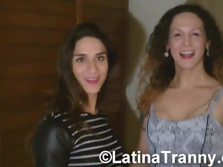Adriana Rodrigues and Nikki Montero Sao Paulo Meeting