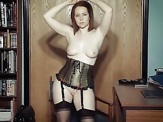 I DANCE YOU WANK 10 - British chat & JOI strip dance