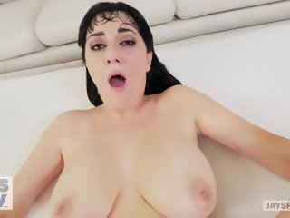 JAY'S POV - Hot Busty Milf Allasandra Snow gets Creampied