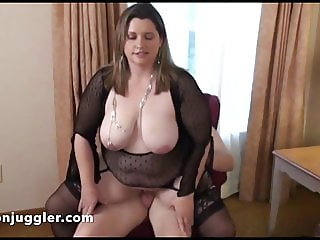 Blonde watches husband and wife doing it