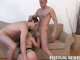 Your first bisexual suck and fuck will be amazing