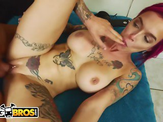 BANGBROS - Busty Anna Bell Gets Is A Total Freak On Big Tits Round Asses