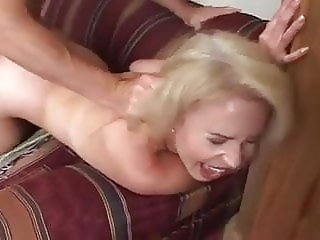 Granny Erica anal with young boy