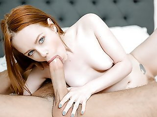 TeensDoPorn - Redhead Teen Gives Fire Blowjob