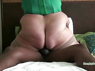Another blonde with a fixation for black cock