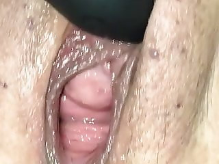 Wife's squirting pussy
