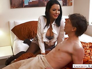 Veronica Avluv - Mom Fucks son s Best Friend