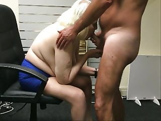 Penny Sneddon cum into mouth & tits 26-6-18