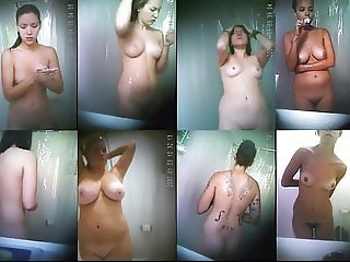 Hidden Shower Cam Compilation