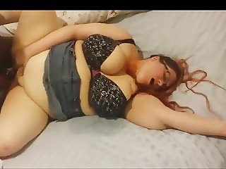 BBW Fucked By BBC's In Threesome