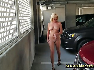 Full Nude Stripping in Public