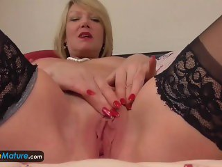 EuropeMaturE Enormous Solo Footage Compilation