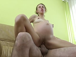 Pregnant mom is horny!