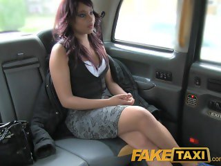 FakeTaxi Sexual favours from ebony minx
