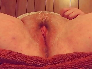 BBW MILF FAT WET CLIT ORGASM CONTRACTIONS