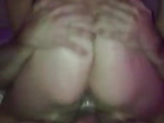 Young wife rides friend