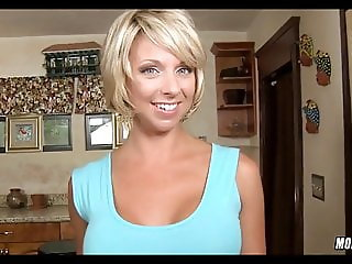 Cute Blonde Mom is Horny