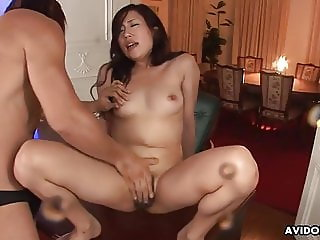 Squirting after a nice pussy rub down then she gets plowed