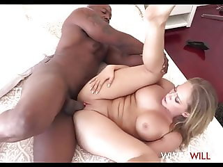 Hot Big Tits MILF Cheating Wife Fucks Rap Star To Sell House