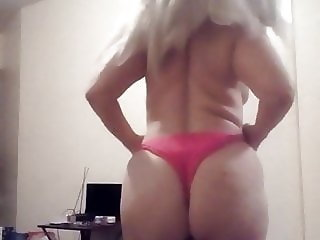 Sexy blonde hairy pussy big tits. Perfect. Round ass