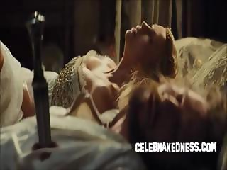 Celeb charlize theron skimpy in new snow white movie
