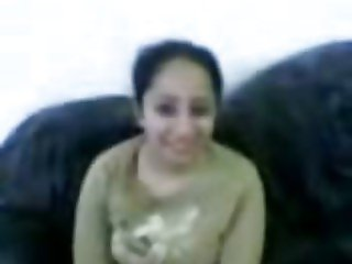 Arabic Teen fooling around (Soundless)