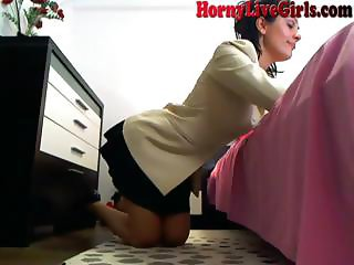 Hot Webcam Girl Does Anything For Her Master Part 2